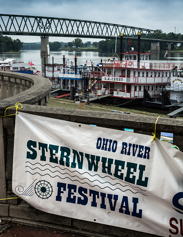 Shoot images that might interest event organizers, such as this image from the Ohio River Sternwheel Festival held in Marietta, Ohio.