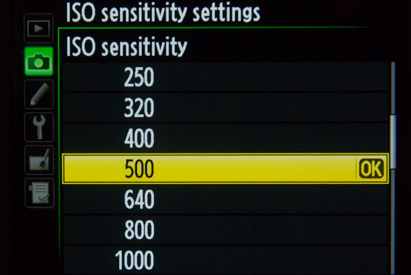 How to use Program Mode to set Your ISO