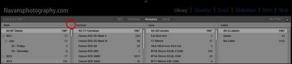 Lightroom FilterBar Metadata 04
