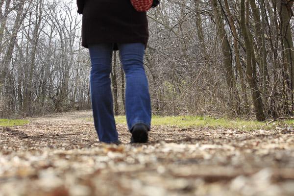 walking, selfie, self portrait