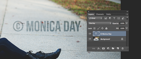 How to Watermarking Images With Photoshop and Lightroom