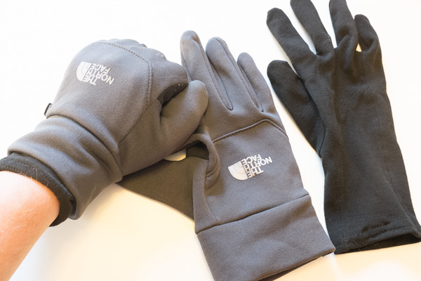 Photography gloves.