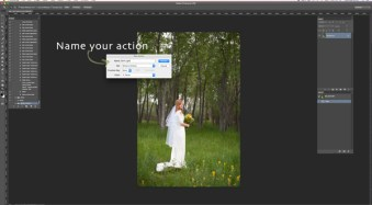 3…2…1…Actions!! A Guide to Using Photoshop Actions to Speed-Up Your Workflow