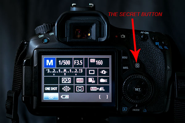 The Q Button - What Every Canon DSLR Photographer Needs to Know