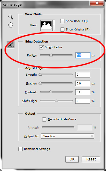 How to use Photoshop's Quick Selection Tool to Change a