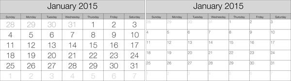 how to create a 2015 calendar in the lightroom print module
