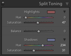 How to Split Tone Black and White Photos in Lightroom