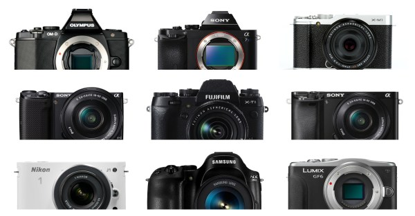 The 19 Most Popular Compact System and Mirrorless Cameras with Our Readers