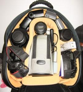 Overstuffed Photo Backpack