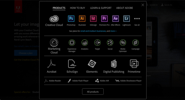 Lightroom creative cloud