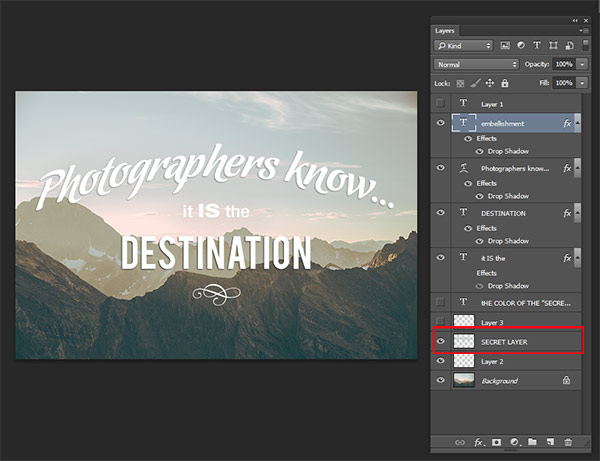 How to Use the Text Tool in Photoshop