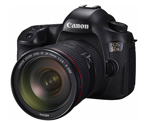 Who's Getting in Line for the New Canon EOS 5DS or 5DS-R Cameras?