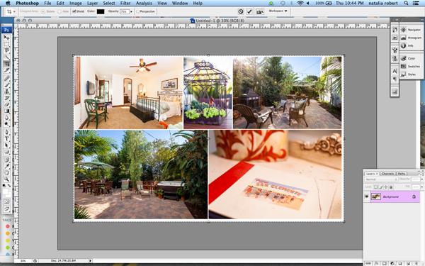 Photo composition elements
