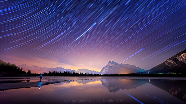 How I shot and Processed a Star Trails Selfie