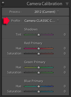 Import presets Lightroom