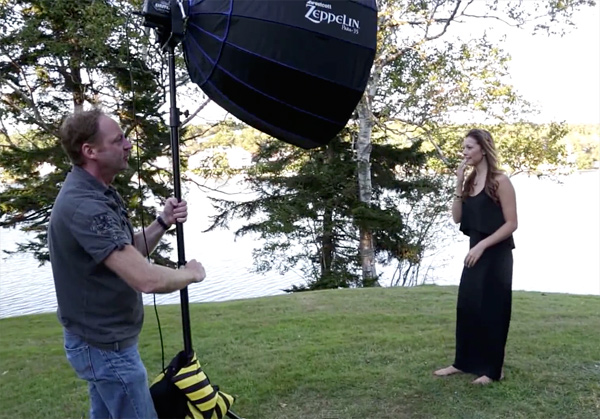 How to mix ambient light and fill flash for outdoor portraits mod1 aloadofball Images