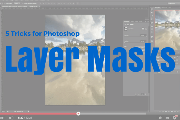 5 Photoshop Layer Mask Tricks - Video Tutorial