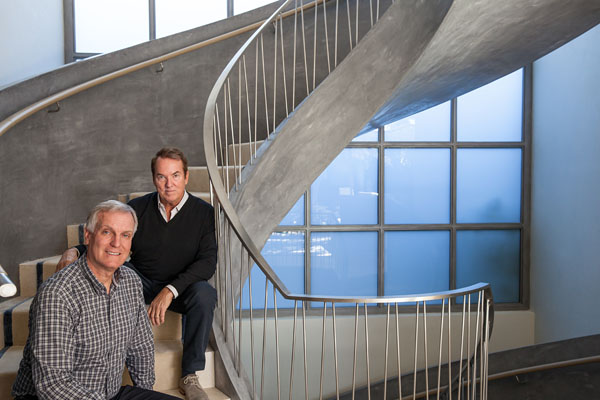 Lead architects of a high-end design firm.