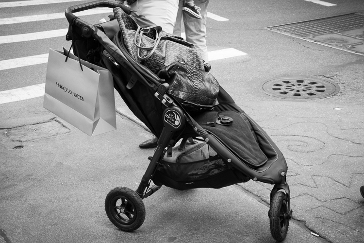 Stroller, SoHo, NYC.