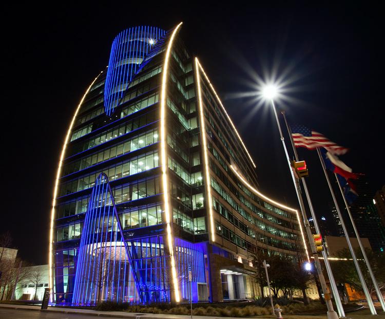 Proper Exposure at Night - Dallas example