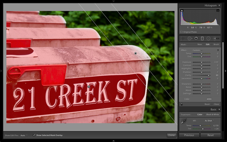 New Graduated and Radial Filter Features in Lightroom 6
