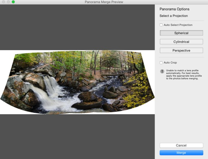 Step by Step Using Merge to Panorama in Lightroom