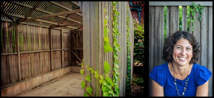 Many locals recommend this property, but few use the old carports as backdrops. Cell phone shot on left, final portrait on right.