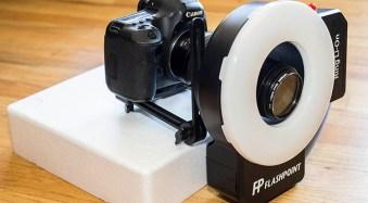 Adorama Flashpoint Ring Li-on ring flash