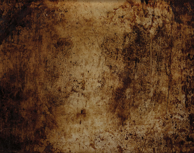 You can also use a scanner to create textures. Thiis is a scan of the bottom of an old baking tray