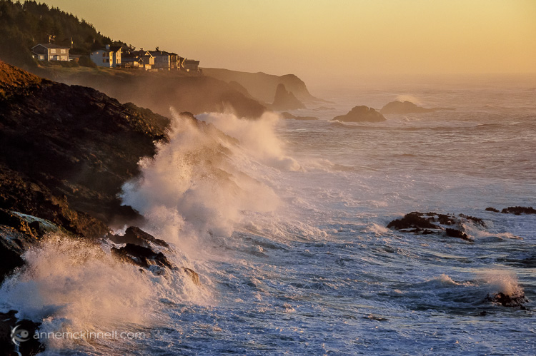 Depoe Bay, Oregon, by Anne McKinnell