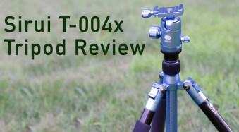 Sirui T-004X Aluminum Tripod Review
