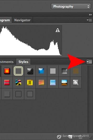 arrow-icon-styles-panel