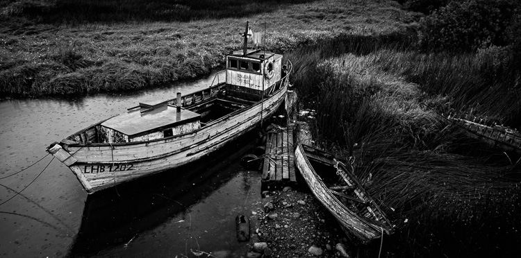 Composition in black and white photography