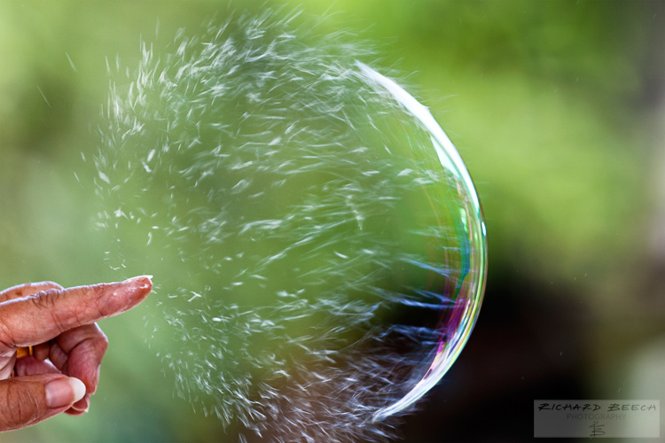 How To Capture A Photo Of Bubble Bursting