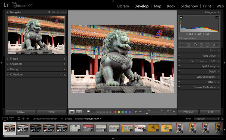 Steps for Getting Started in the Lightroom Develop Module