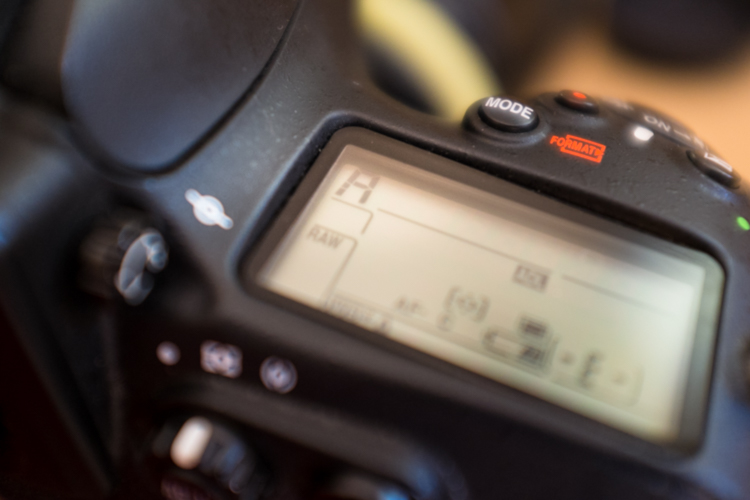 Aperture priority settings
