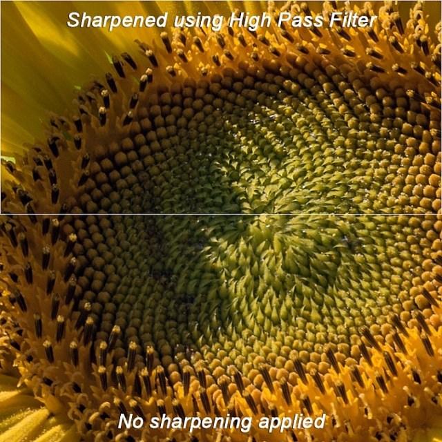 High pass filter comparison