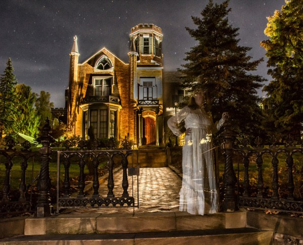 Creating Ghostly Images for Halloween