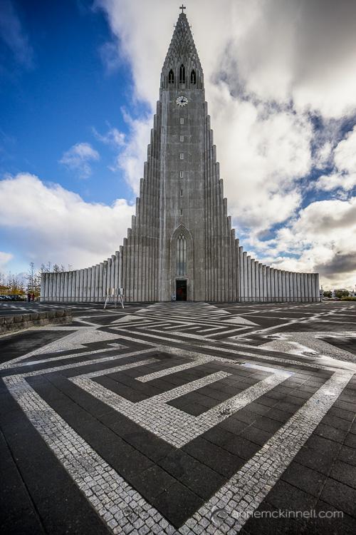 Hallgrimskirkja, Reykjavik, Islândia