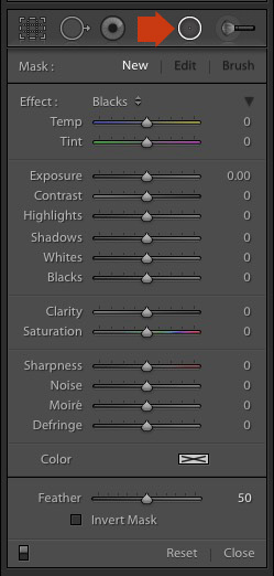How To Show Points Of Brush Tool Light Room