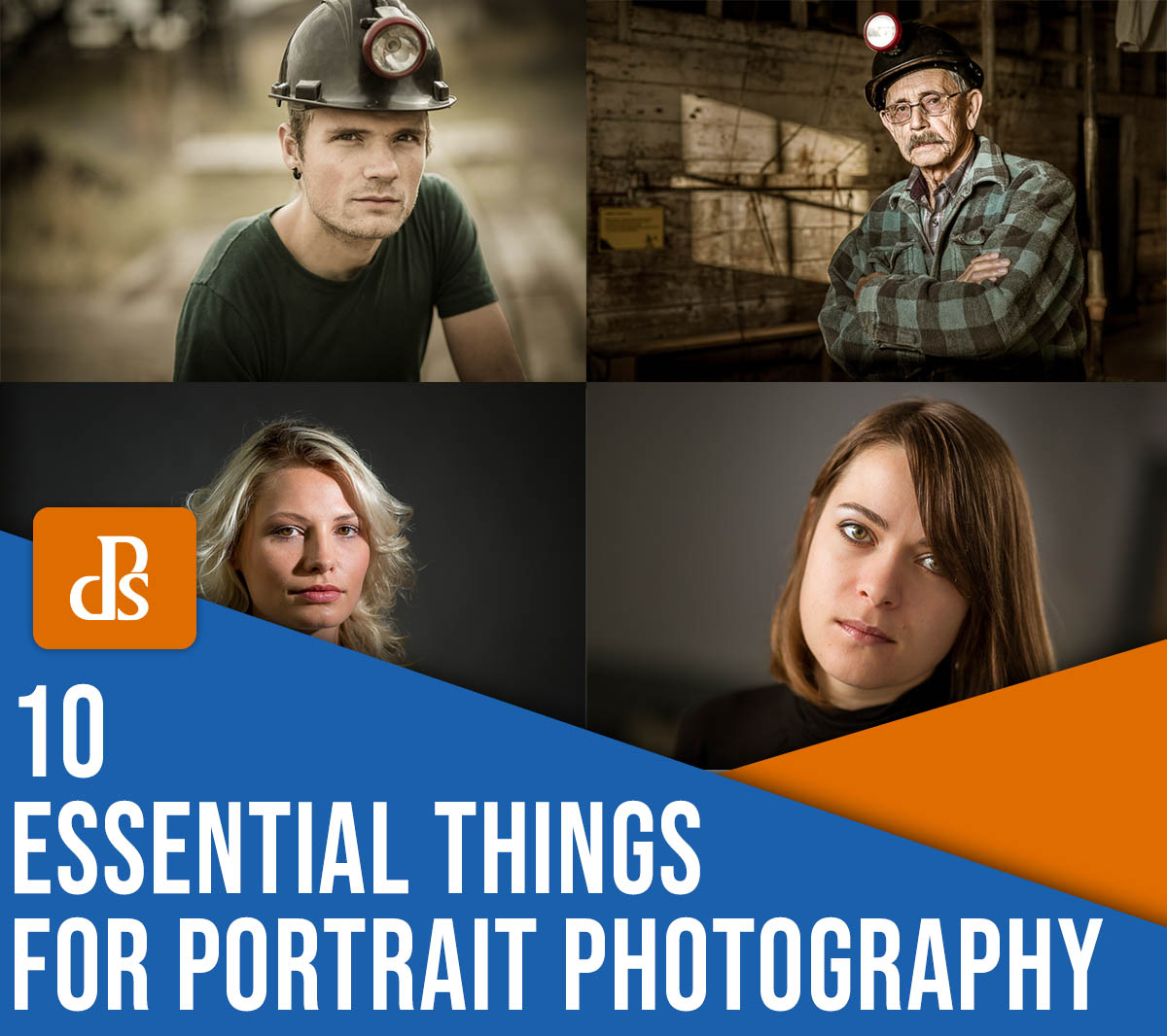 10 essential things for portrait photography