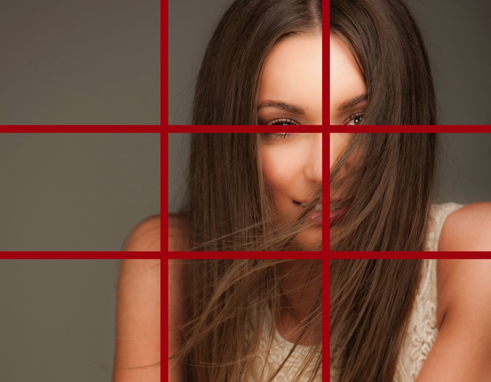 rule of thirds portrait photography
