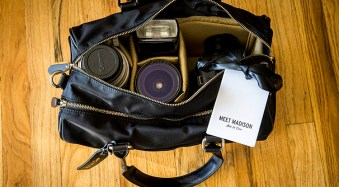 For Women Photographers: Review of the Madison Camera Bag by Aide de Camp