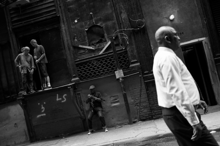 Cortlandt Alley, NYC.