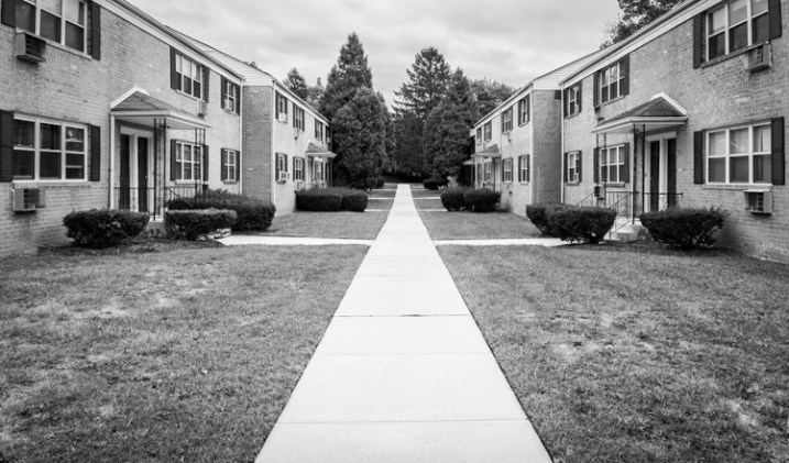 Subdivision, New Jersey by Neil Persh