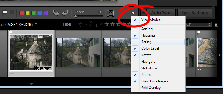Lightroom interface quiz - image for question 10