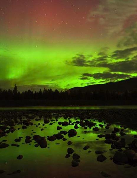 River aurora