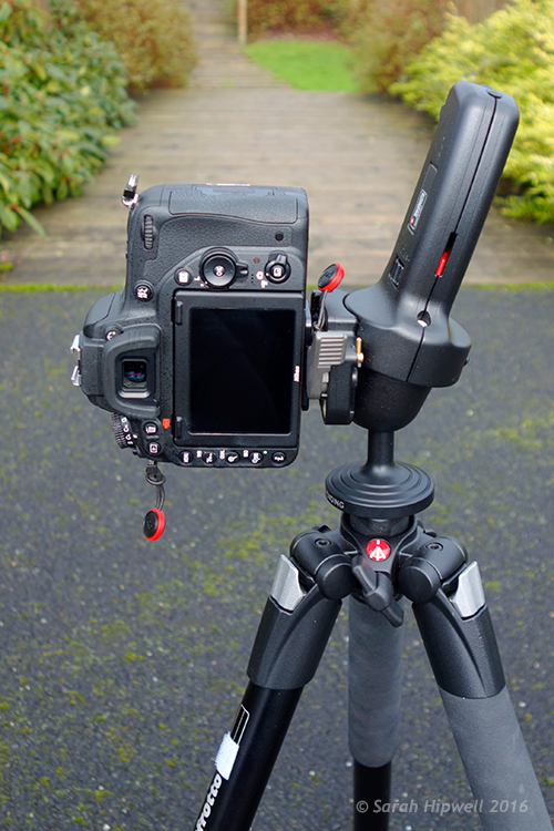Camera-in-vertical-mode