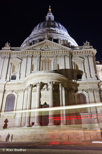 St. Paul's Cathedral has been photographed many times, but this was one of the photos the agency accepted.
