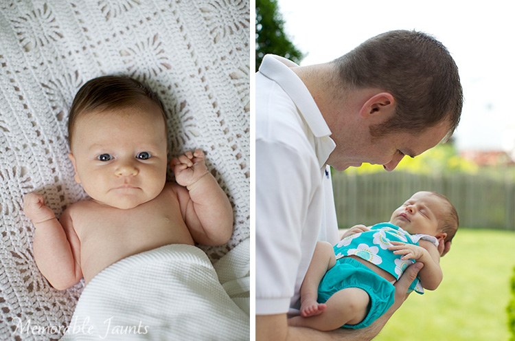 My only attempts at Newborn Photography.